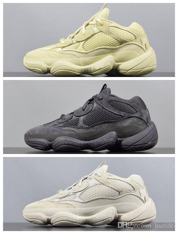 free shipping b4ea1 0c746 2019 Blush wsqsb KANYE Kanye Sneakers Desert Rat 500 Mens Running Shoes  Athletic Sneaker Outdoor boots size 5-11