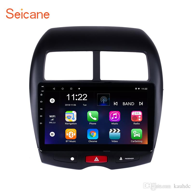 Android 8.1 10.1 Inch Car Stereo GPS Navigation for 2010-2013 Mitsubishi ASX with Mirror link touch screen USB support 1080P Video 3G