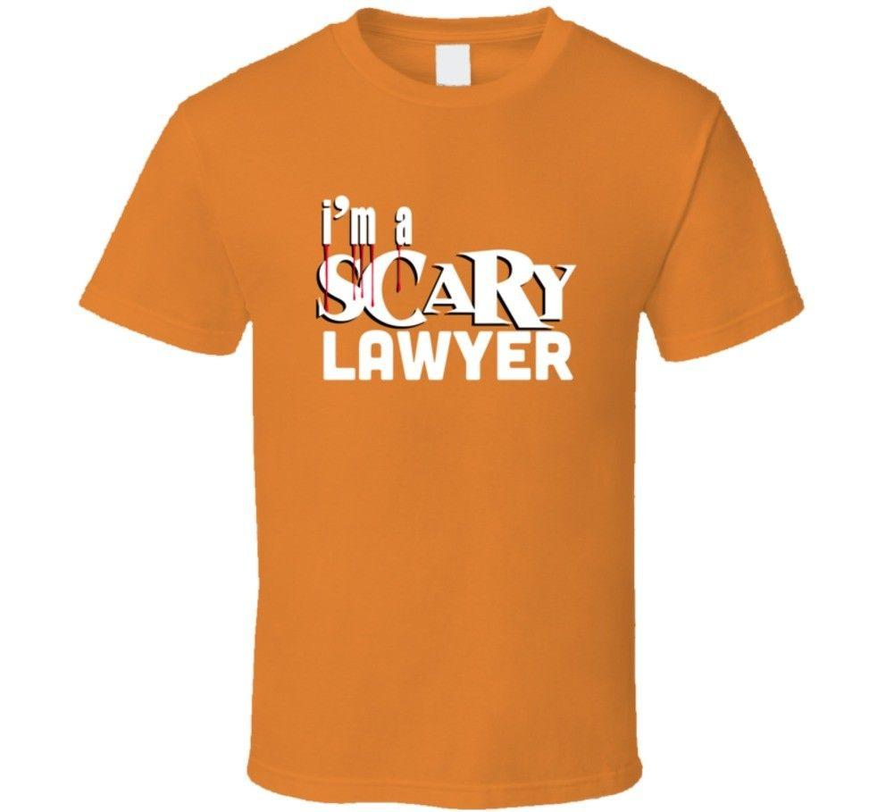 I'm A Scary Lawyer Funny Halloween Costume Party T-shirtFunny free shipping  Unisex Casual Tshirt