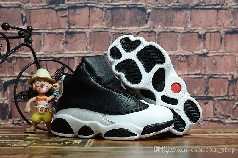 KIDS 13s Basketball Shoes One Penny Hardaway Children Tennis FOAM Eggplant Basketball Sport Shoes Outdoor Athletic Sneaker shoe Eur 41-47
