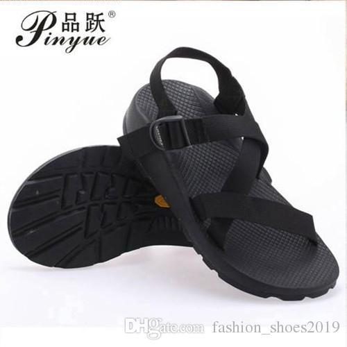 ab8b3a224b9f Compre Zapatos De Goma Antideslizantes Masculinos 2016 Sandalias ...