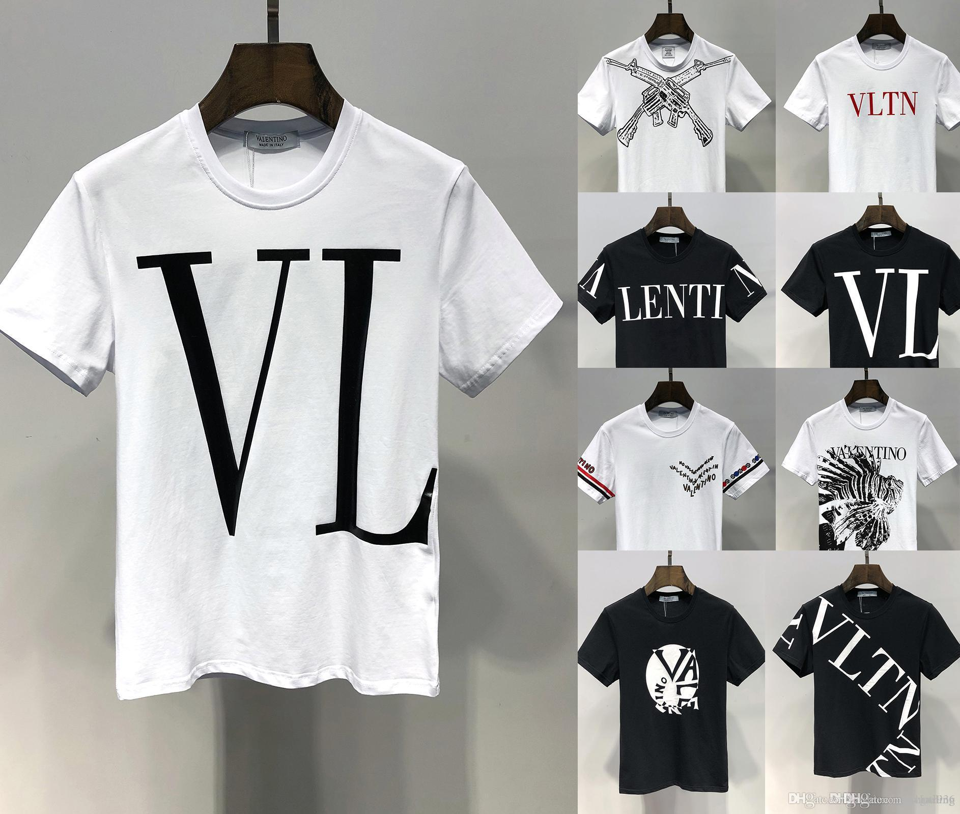 61c92cd3 2019 VT 26 Styles Fashion Luxury T Shirts Men Fashion Polo Shirt Shirt Men  High Street Snake Little Bee Tiger Print Mens Polo Shirt Best Tshirts Cool T  ...