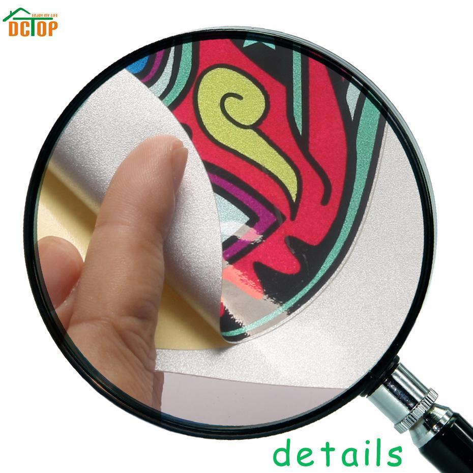 23 unids Multi-tamaño DIY Color Dots Wall Stickers Art Circle Dots Decal Vinyl Polka Wallpaper Para Niños Habitación Decoración para el hogar arte