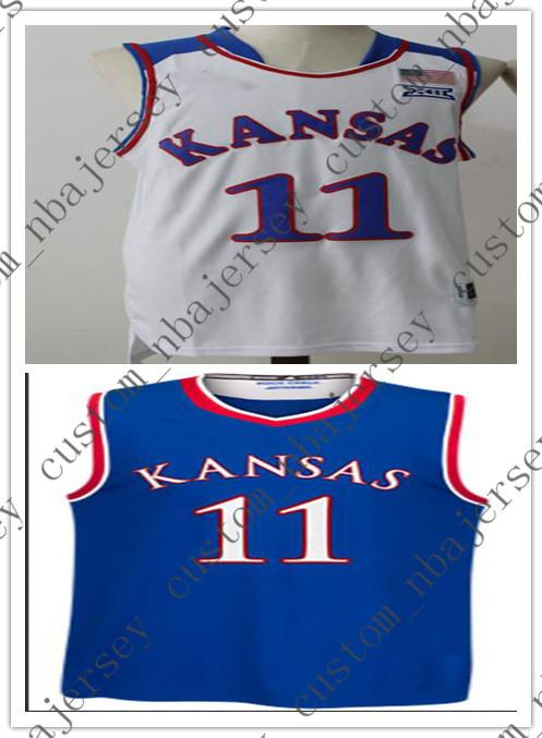 best sneakers cedb2 7a9f0 Devon Dotson Kansas Jayhawks Jersey no.11 College Basketball Jerseys  Stitched Mens Women Youth Custom Any Name Number XS-6XL