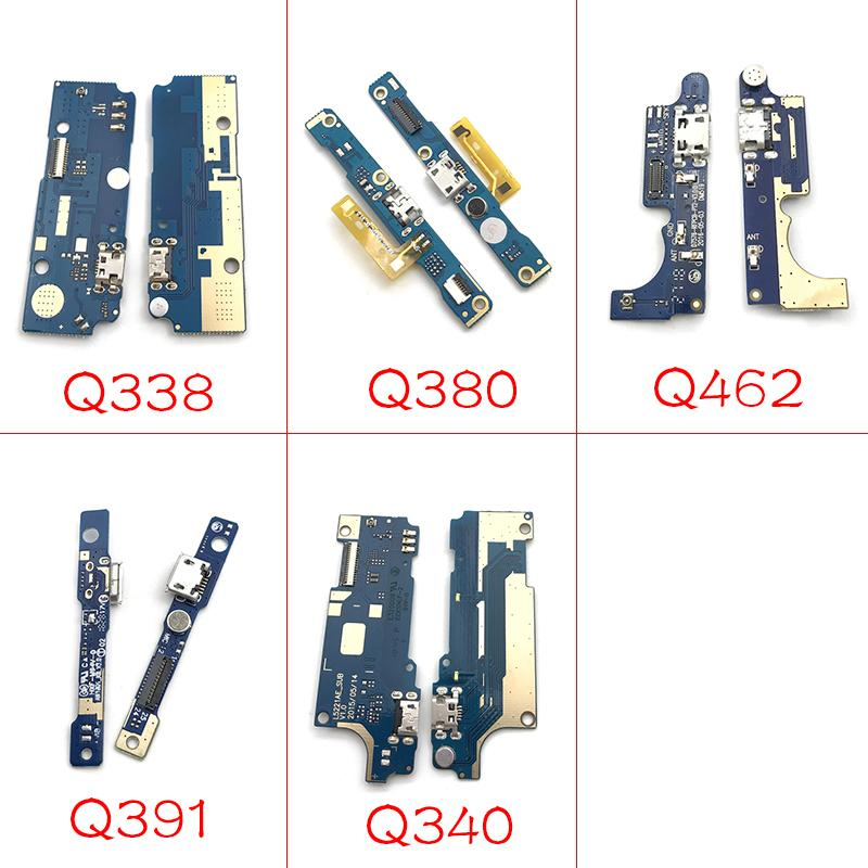 10pcs/lot New Compatible For micromax q340 Q338 Q462 Q380 Q391 USB Charging  Flex Cable Charger Dock connct flex ribbon cable