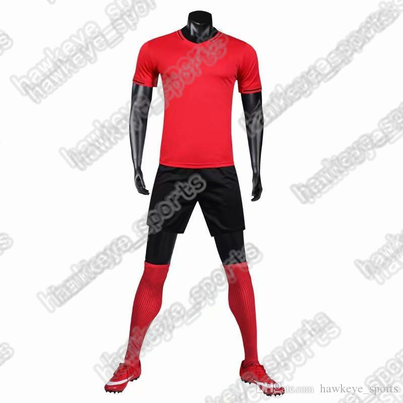 New Men's Sports Football uniform hot selling Customized Putuan Training Suit Breathable 2019 Short Shirt 2785465