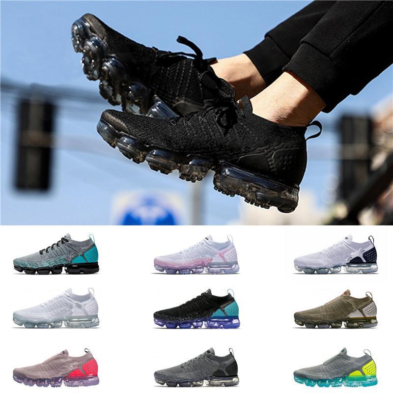 2019 Nike vapormax 2.0 zapatillas de deporte de las mujeres de color naranja transpirable zapatos deportivos de atletismo senderismo caminatas