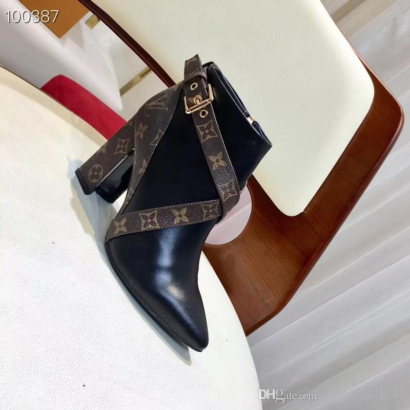 aAAAtop NEW luxury designer elegant line buckle style heel shoes exquisite heel sandals ladies comfortable fashion shoes
