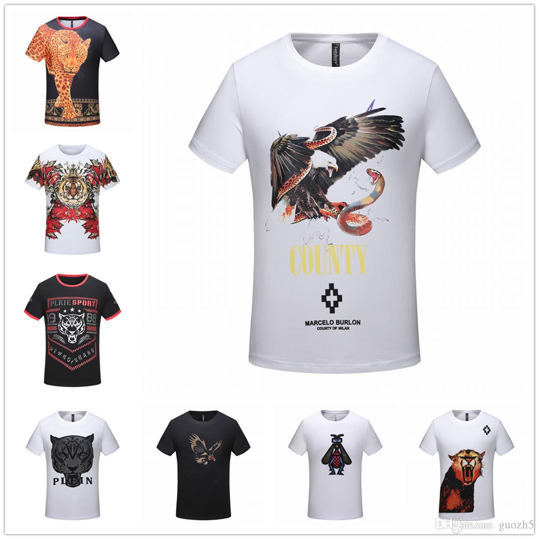 2019 pring new high quality mens paris tiger t shirt luxury tops men designer comfortably and soft t shirt FREE SHIP