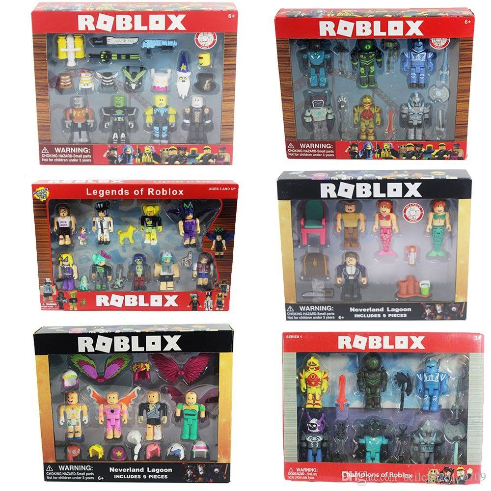 Roblox Figure Jugetes 2018 7cm Pvc Game Figuras Roblox Boys Toys For