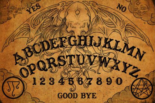 vintage ouija board art silk poster 24x36inch 24x43inch 0587 wall to