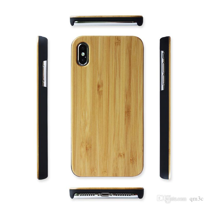 2019 Nuevo estuche de madera para Iphone X XS MAX XR Samsung Galaxy Note 9 S8 Plus Note8 Apple Iphone 8 7 6S Plus
