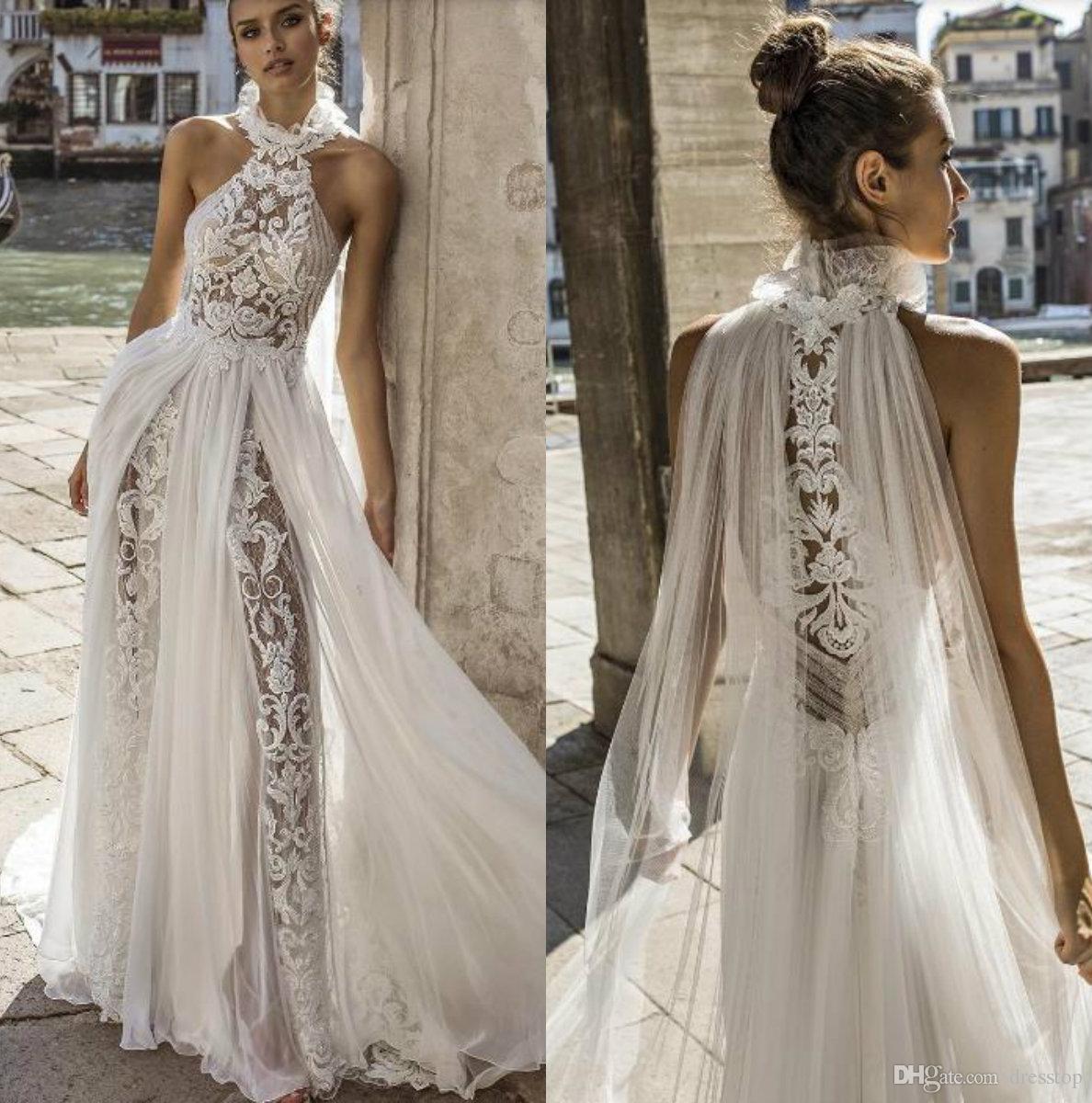 A Line Princess Cut Wedding Dresses