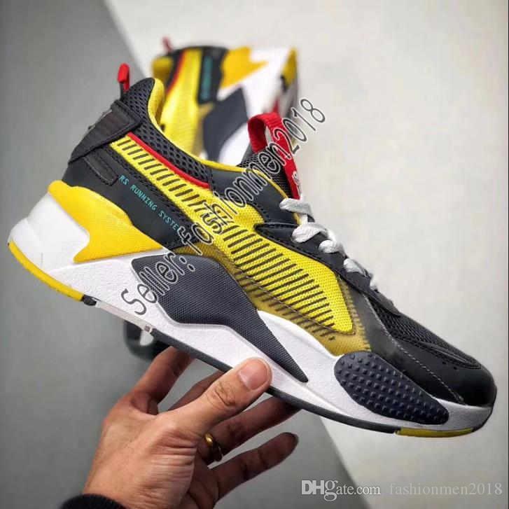ee55be7a9866d Acheter Avec Boîte PUMA RS X Toys Pour Hommes Chaussures De Course Pour  Hommes Baskets Baskets Femmes Jogging Femmes Sport Entraîneurs Femmes  Garçons ...