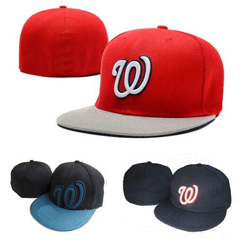 Compre Moda Letra W Cap Men Fitted Hats Sombrero Plano Embroiered Marca  Diseñador Equipo Deportivo Fans Gorras De Béisbol Chapeu Cerrado Completo A   11.42 ... c9eef73da0a