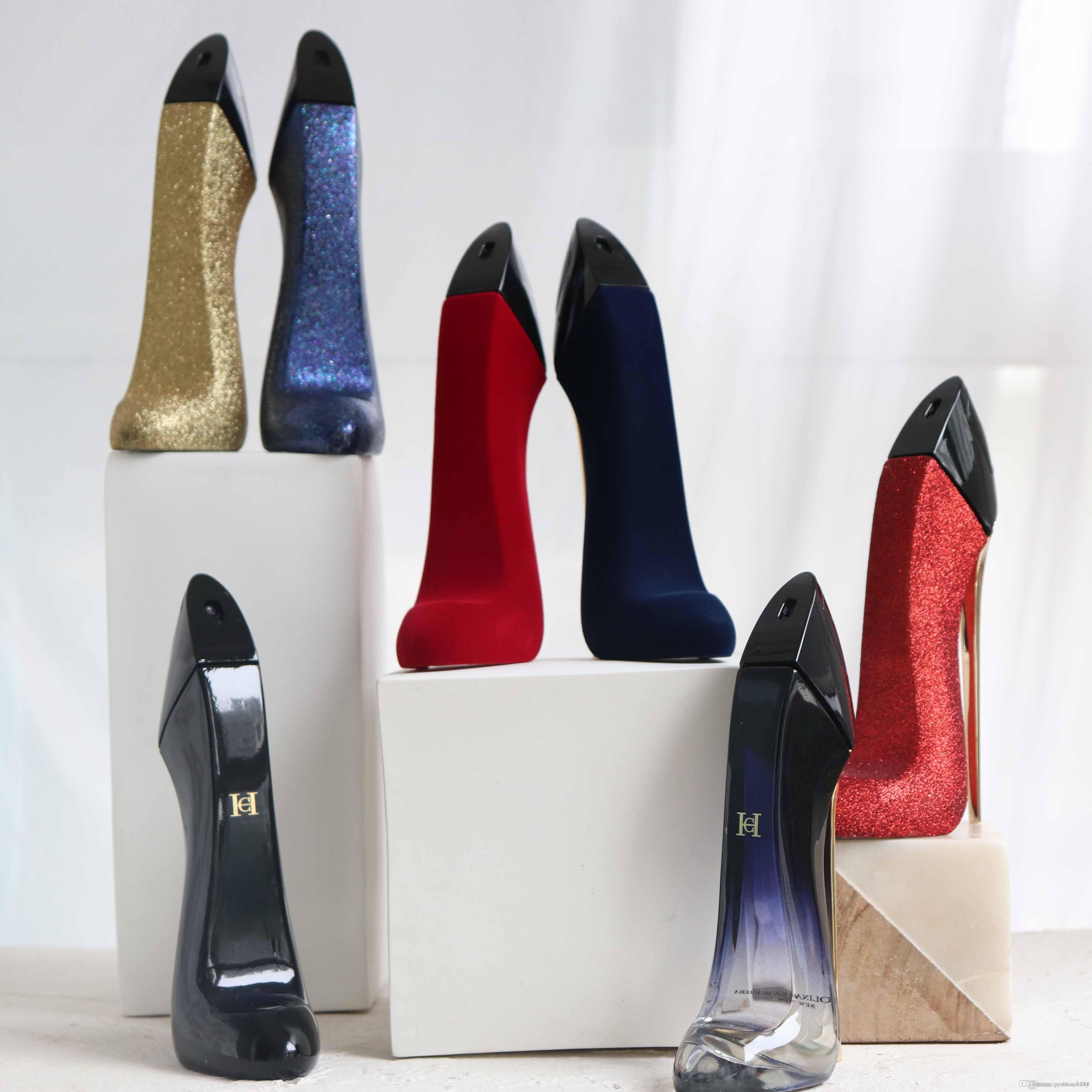 Five Flavors To Choose From Womens Perfume Good Girl High Heels