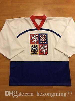 2019 Men S  68 Jaromir Jagr Czech Republic National Team Jersey 90 ... cf99140bc