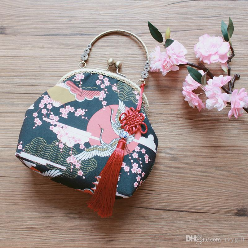 Create the artistic crane mouth gold bag, women's fashion Korean version, versatile slanted cross-bag, Japanese handbag