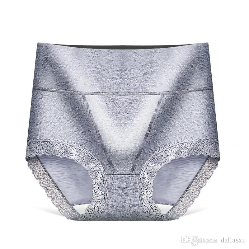 2019 Hot sell Underwear for pregnant women Panties Sexy Lace Panties Cotton Lace High Waist Abdomen Breifs Underpants Panties