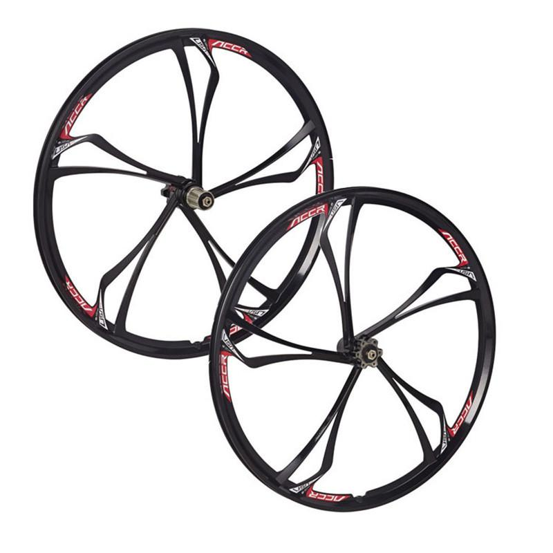 Magnesium Alloy Mountain Bike Wheels Road Bicycle Wheel Front And