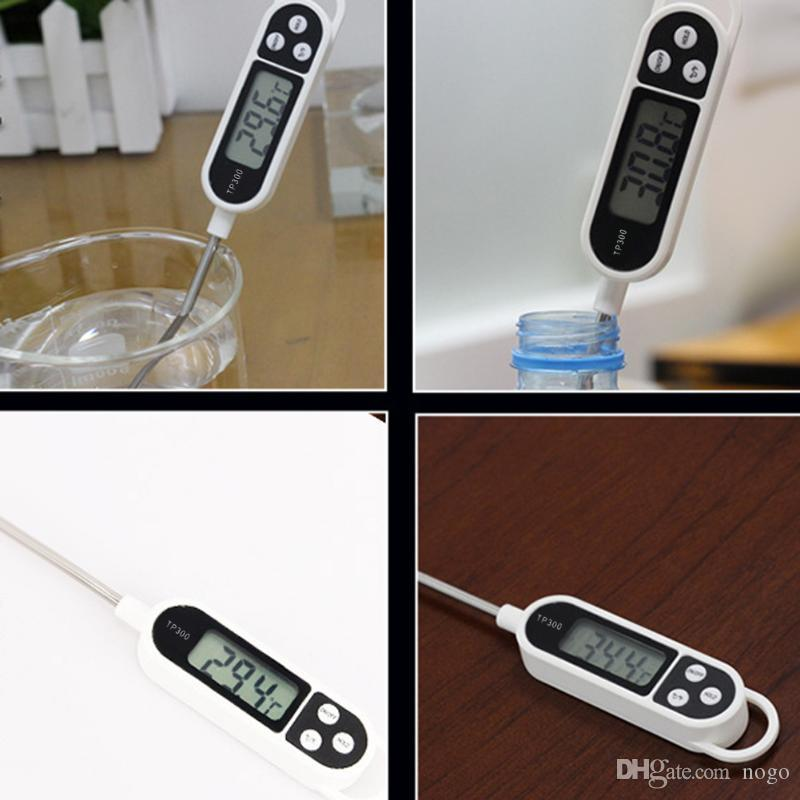 Digital BBQ Meat Food Cooking Thermometer Temperature Sensor Probe