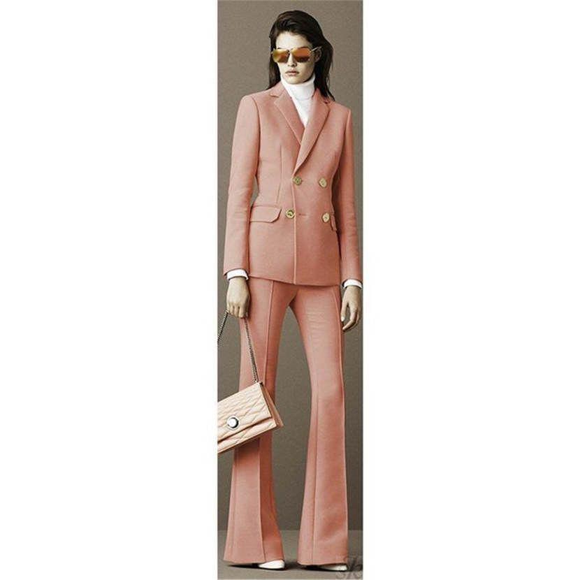 08146758b90 Acheter Tailleur Pantalon Pour Femme Formel Pour Femmes 2 Pièces Costume  Pour Homme D affaires Uniforme Pour Femme De  100.36 Du Tingweimy
