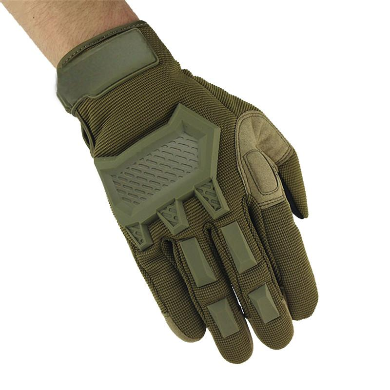 Outdoor Full Finger Tactical Gloves Men's Touch Screen Sports Anti-skid Riding Fitness Antiskid Motocycle Bicycle Gym Gloves