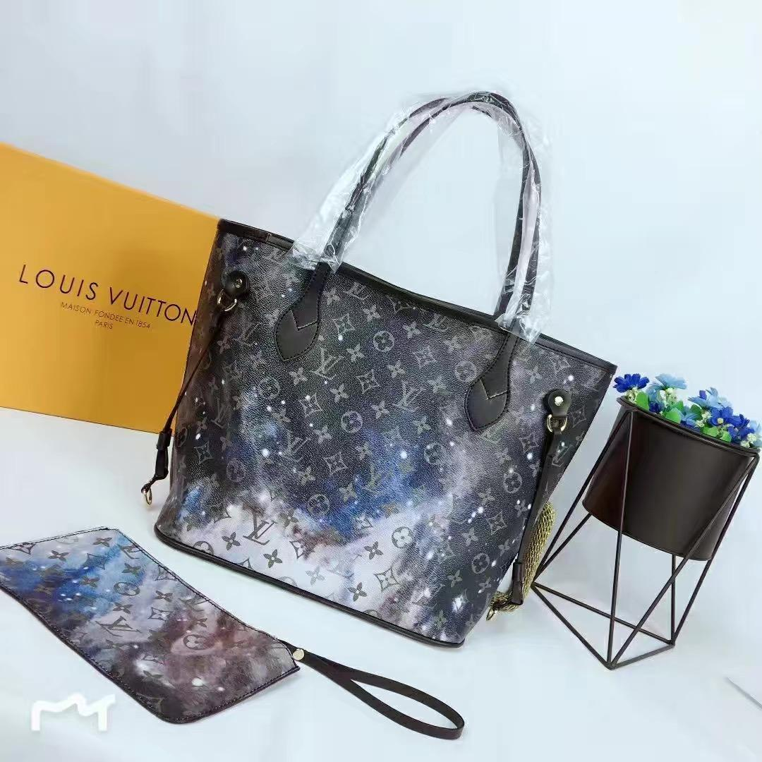 776ca77dc453 KLOUIS VUITTON NEVERFULL HANDBAGS+WALLET WOMEN 100% GENUINE LEATHER SHOULDER  BAGS 3A+ MESSENGER BAGS PURSE CLUTCH TOTES 2019 LOUIS Leather Bags Handbags  On ...