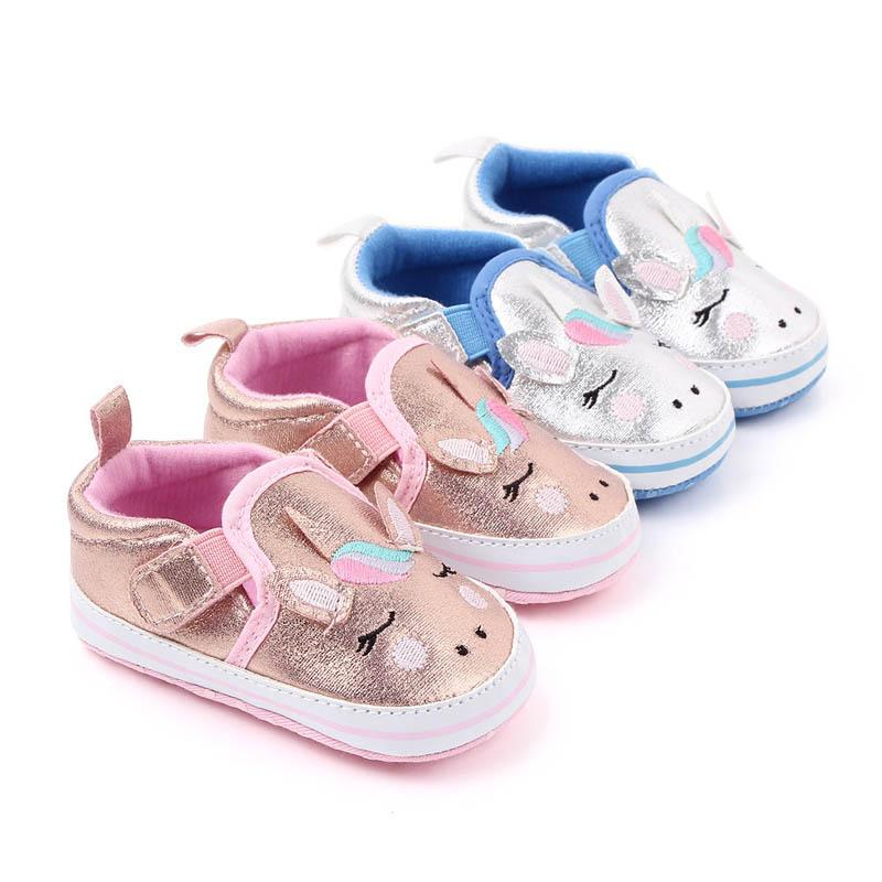 Unicorn baby shoes casual toddler shoes infant shoes baby girl shoe baby sneakers infant trainers Moccasins Soft First Walker Sho A9431