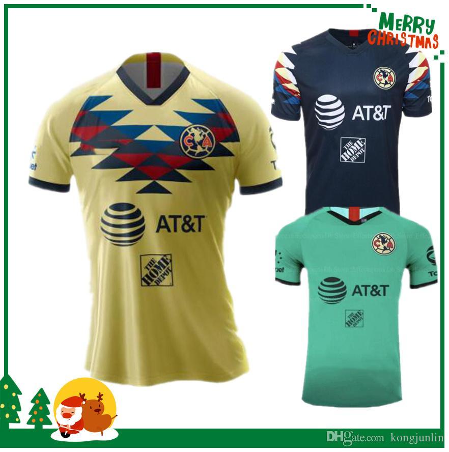 online store fcc22 17a76 2019 América Mexico Vereinstrikot 19 20 MEXICO Club America Fußballtrikot  des Club de Futbol America