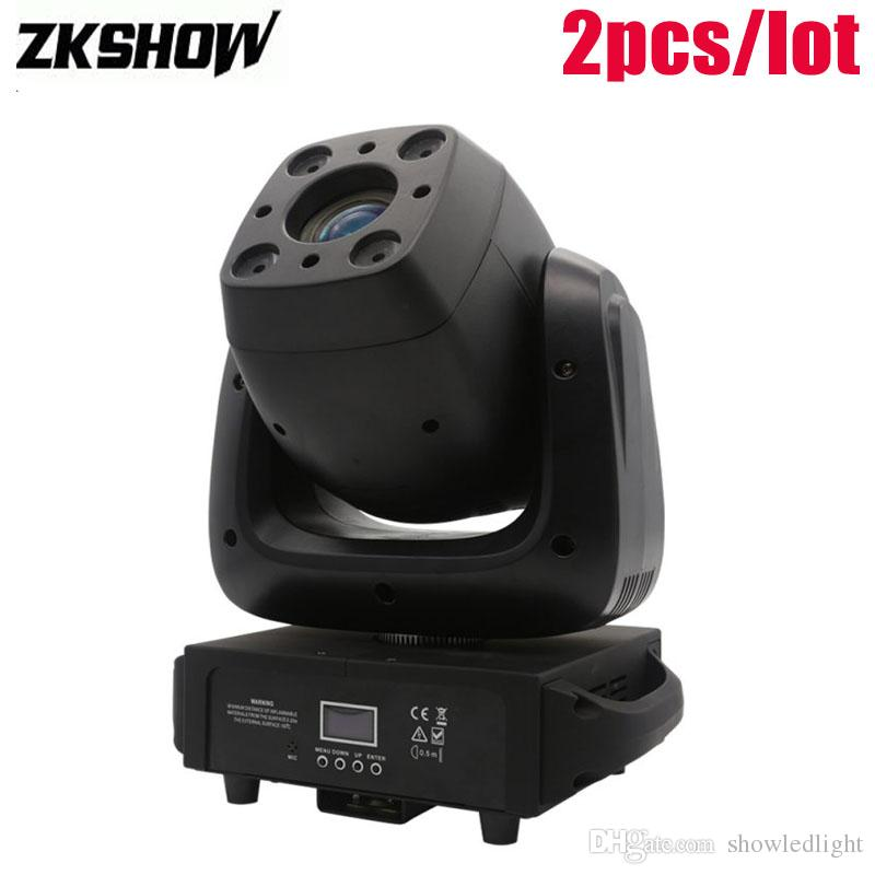 5d651abb71e 2019 100W Spot 4*10W Wash Moving Head DMX512 Stage Light Projector DJ Disco  Party Music Lighting Effect Cabeza Movil Luci Discoteca From Showledlight,  ...