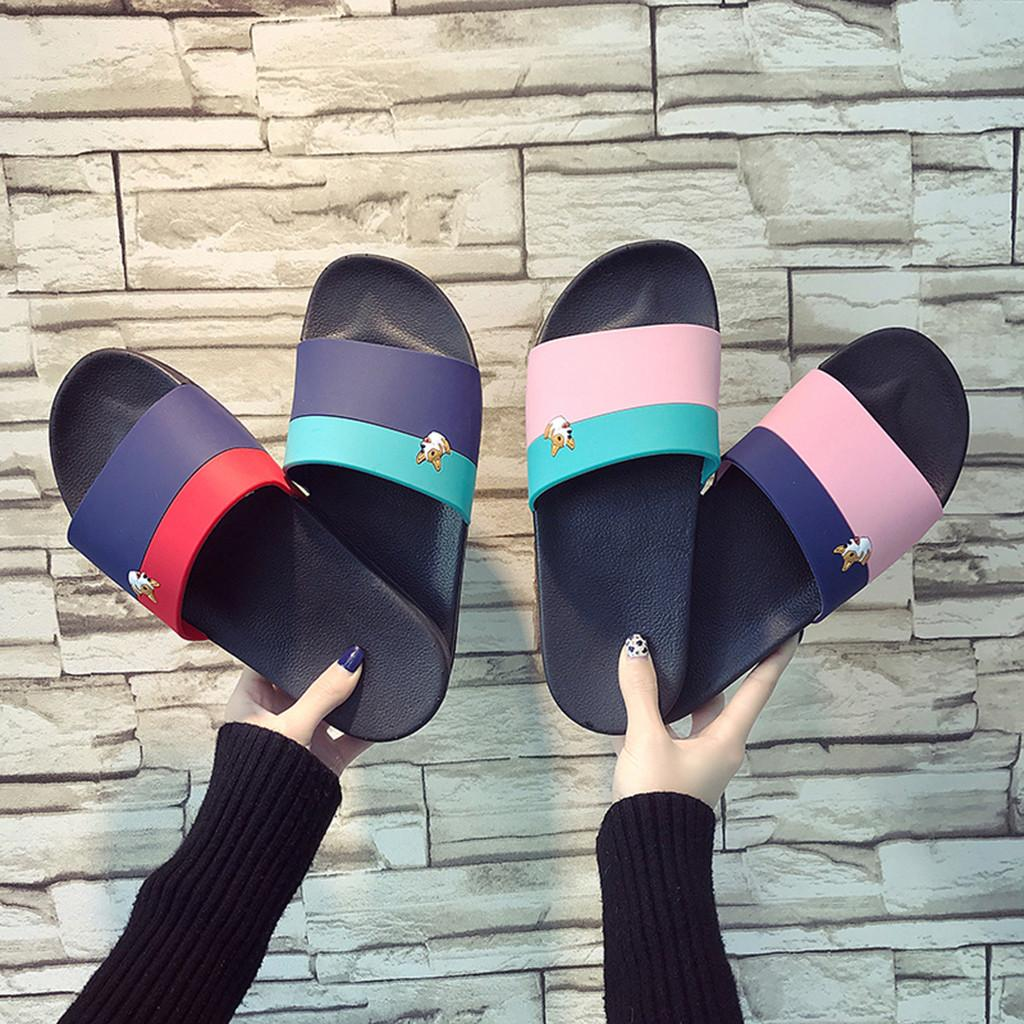 4346408c86 Men S Fashion Style Casual Mix Colors Outdoor Anti Skidding Beach Shoes Home  Slippers Bathroom Wear Resistant Slippers 2019 Black Boots Footwear From ...