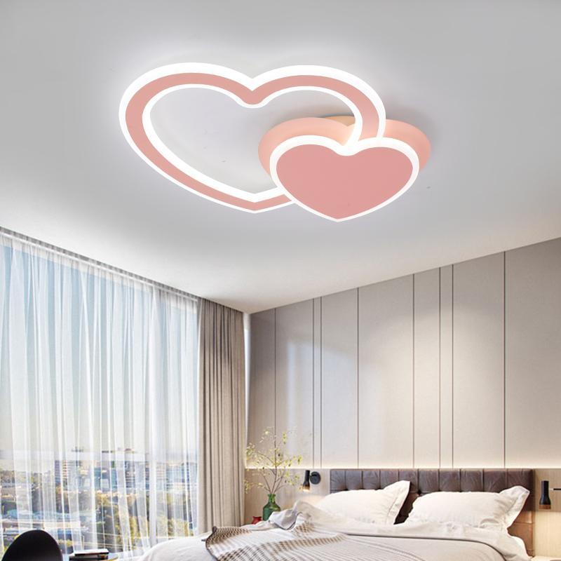 Großhandel Einfache Moderne Schlafzimmer Lampe Warm Romantisch ...