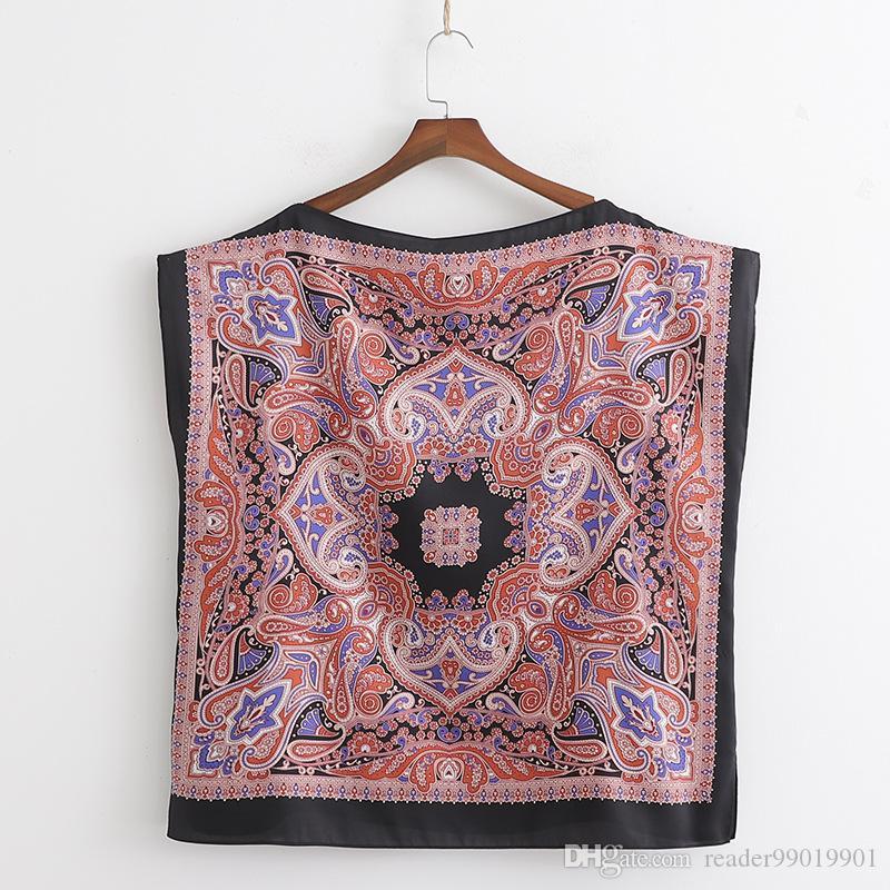 newest 605a3 499f4 S-L camicia da donna estiva moda camicetta paisley donna elegante primavera  autunno top * 108