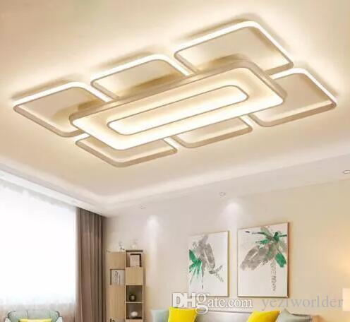 Lampadari Moderni Soffitto Quadrato Di Acquista Del Rjc4A3q5L