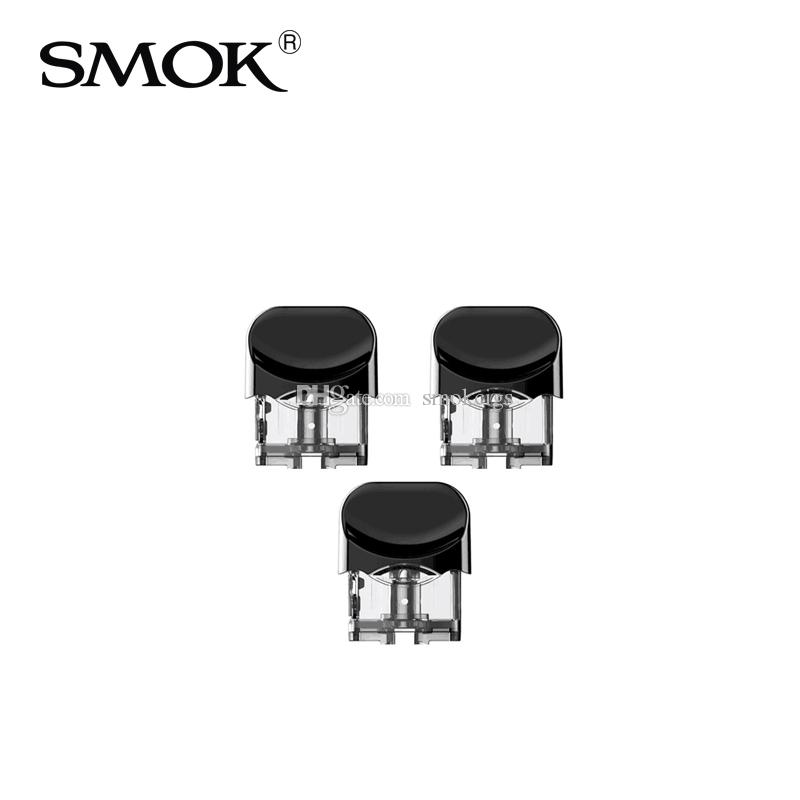 100% Original SMOK Nord Pod Cartridge Replacement Empty Pod(Coil not  included) for SMOK Nord Kit 3pcs/Pack