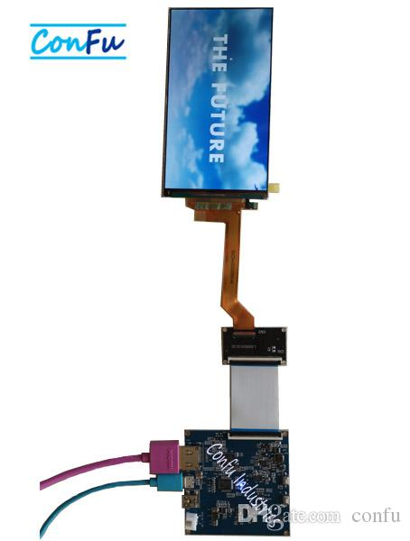 Confu HDMI to MIPI DSI Board for LS055R1SC01 5 5 inch 2560*1440 LCD Apply  for 3D Printer or projector etc