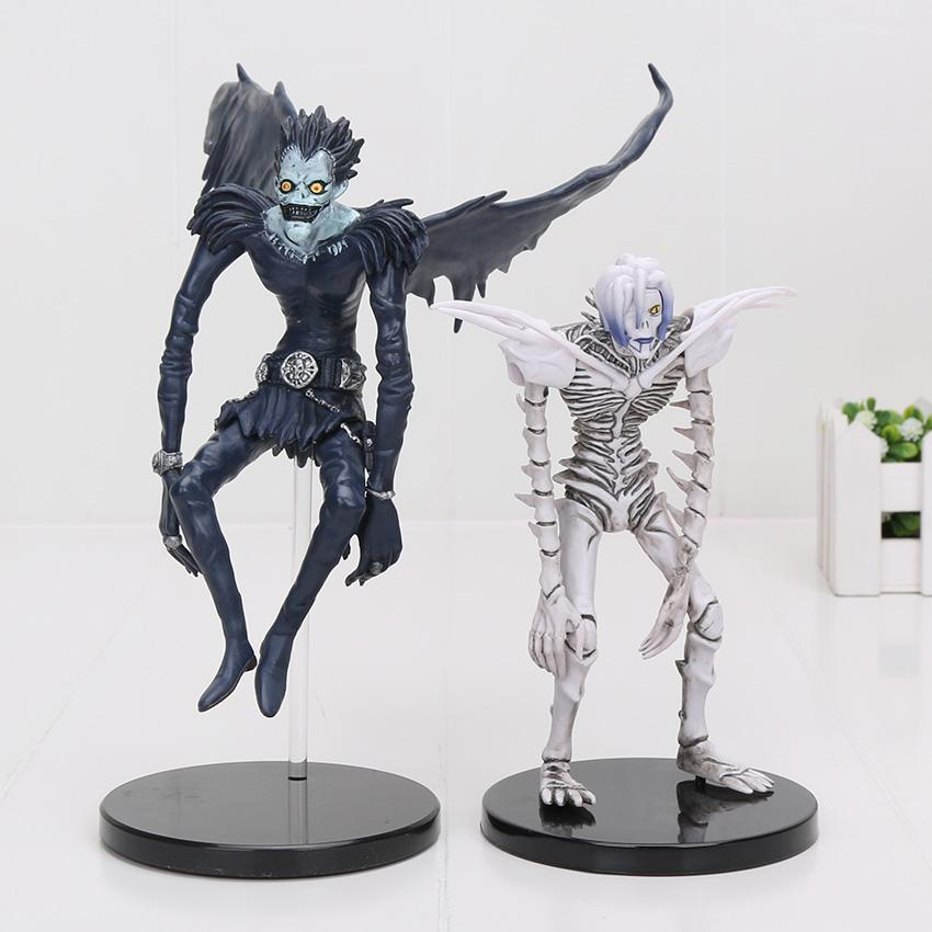 15-18cm Anime Death Note Deathnote Rem Ryuuku PVC Action Figure Collection model toy
