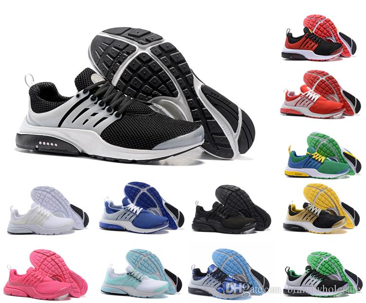 bd5e635443671 2019 Breathable Brand Running Shoes For Men Women Prestos Ultra BR QS OG  Oreo Outdoor Lightweight Air Sports Fashion Lightweight Sneakers Womens  Trail ...