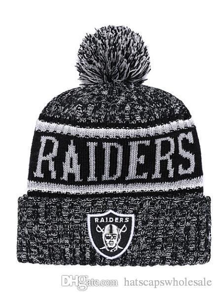 15d95bf0849a79 2019 2019 Winter Raiders Beanie Skull Hats For Men Women Knitted Beanie  Wool Cuffed Knit Hat Bonnet Beanies Warm Hip Hop Cap From  Hatscapswholesale