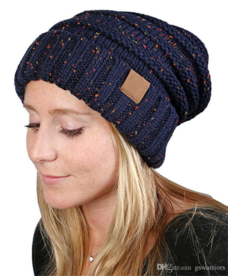 756162d03bf Knit Chunky Beanie Hat