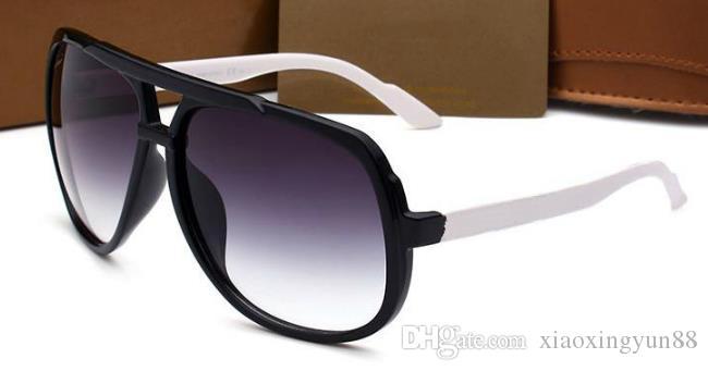 95dac80fd Compre Hombres / Mujeres Gafas Diseño Gafas De Sol Película De Color  Polarizada HOMBRE Gafas De Sol Marca Diseño De Logotipo Gafas De Conducción  Gafas ...