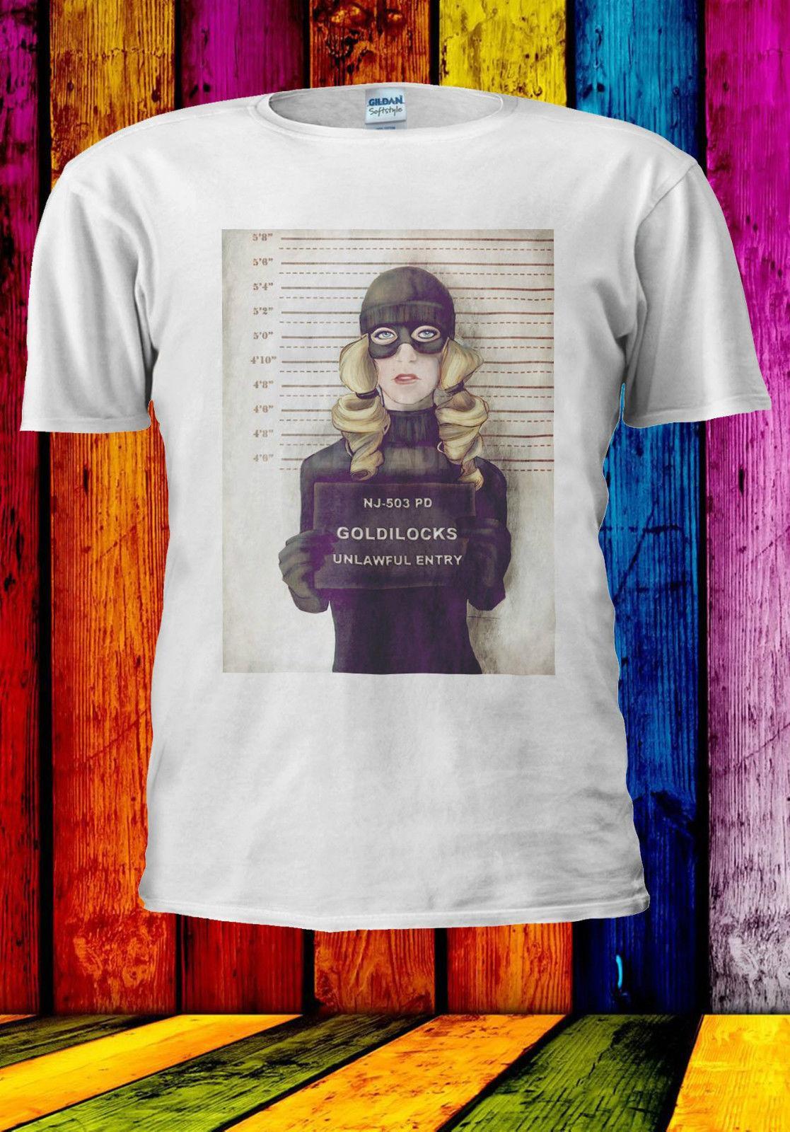 117285ec35db9e Goldilocks Three Bear Gone Bad Guilty T Shirt Vest Tank Top Men Women Unisex  528 Style Round Style Tees Custom Jersey T Shirt Great Tee Shirts Cool Tee  ...
