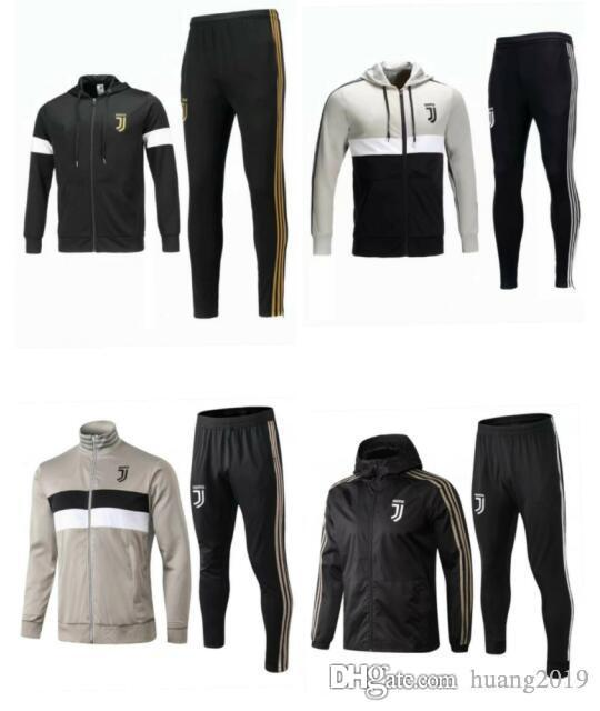 new arrival 3b3d9 988bf RONALDO 7 MARCHISIO Juventus 18/19 season training suit jacket 10 DYBALA D.  COSTA 5 PJANIC 17 MANDZUKIC JUV 2018 Football wear trench coat