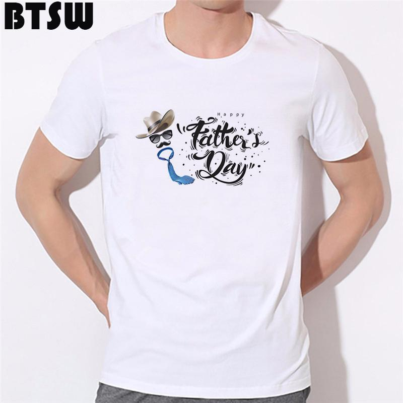Best In Galaxy T-Shirt Funny Print Super Papa Cartoon Best Dad Camiseta Tops Men Hipster Soft Tee Shirt Homme Father's Day Gift