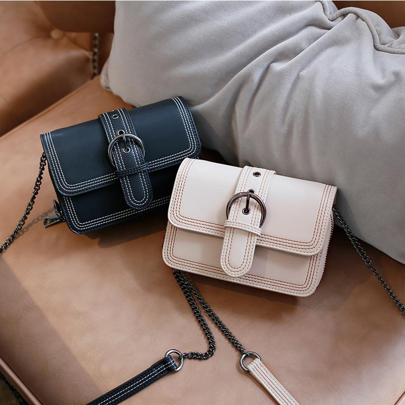5c163018fd New Vintage Small Bag Women Fashion Chain Shoulder Bag Mini Wild High  Capacity Ladies Crossbody Bags For Women Flap Leather Purses Cheap Designer  Handbags ...