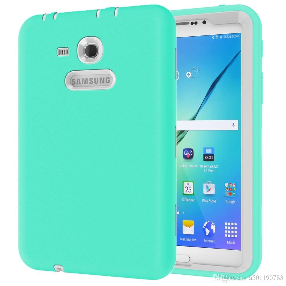 13d9dfc2cd3 New Silicone Case For Samsung Galaxy Tab 3 Lite 7.0 T110 T111 Cover For  Samsung Tab 3 Lite SM-T113 T116 Fundas+Stylus Pen+Film.