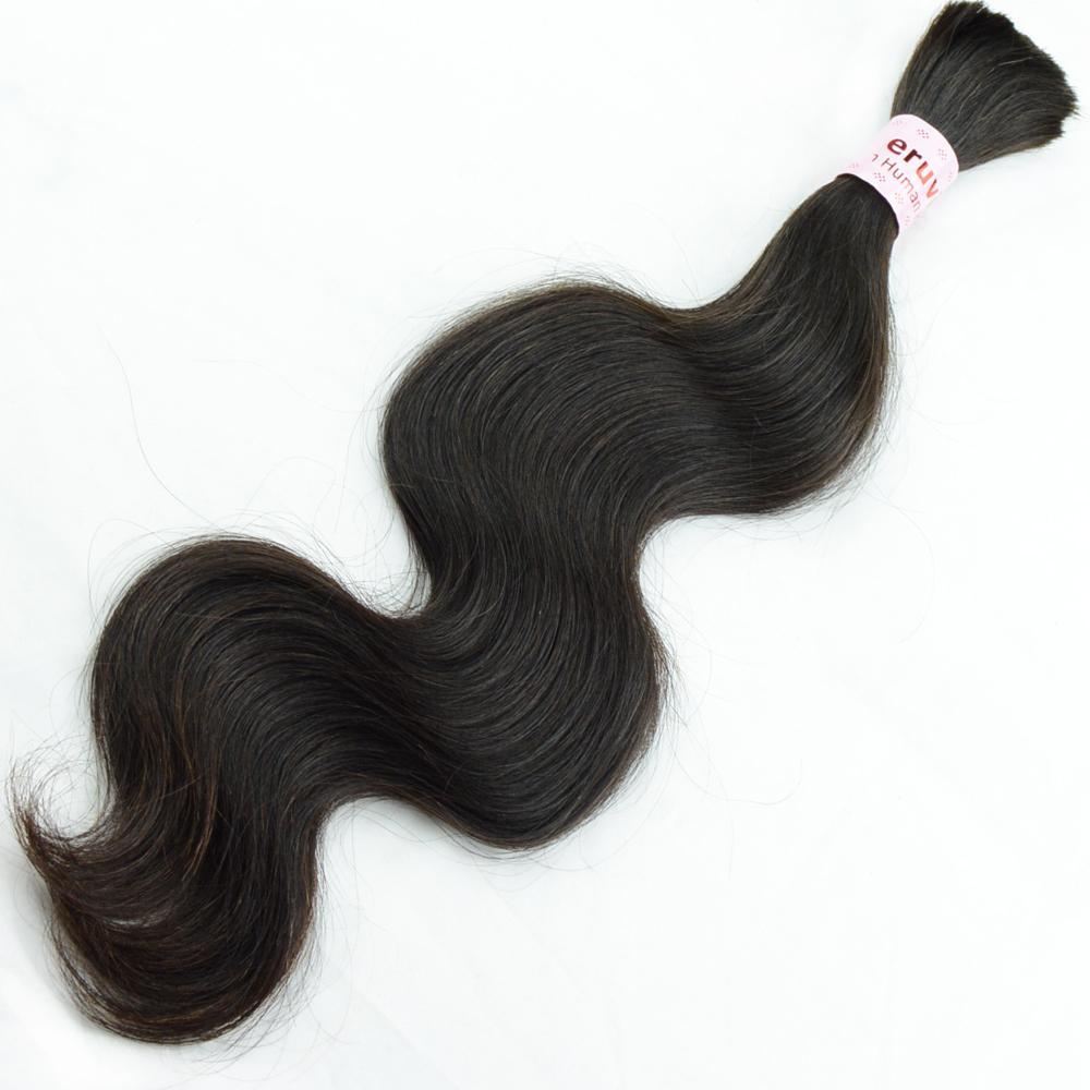 100% naturligt mänskligt hår bulk 14