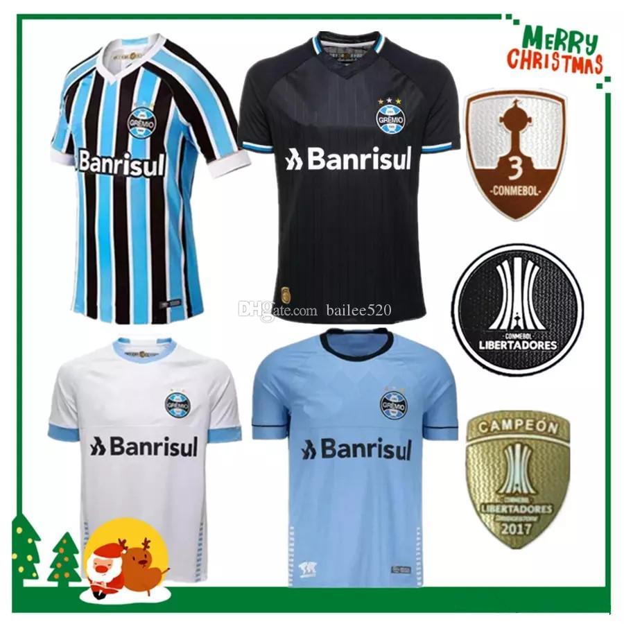647d07af1bf 2019 2018 2019 Gremio Paulista Soccer Jerseys 18 19 Gilchmei Best Gremio  Johnath MILLER LUAN Marlone Azevedo Da Silva Football Shirt From Bailee520