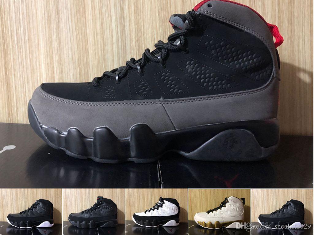 half off 1012b e4469 Nike Air jordan 9 9s Dream It Do It UNC Mop Melo Scarpe da pallacanestro da  uomo LA OG Space Jam uomo Bred The Spirit Antracite sporst sneakers ...